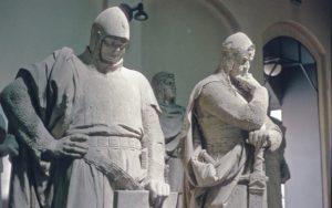Johann I und Otto II skulpturen Siegesallee